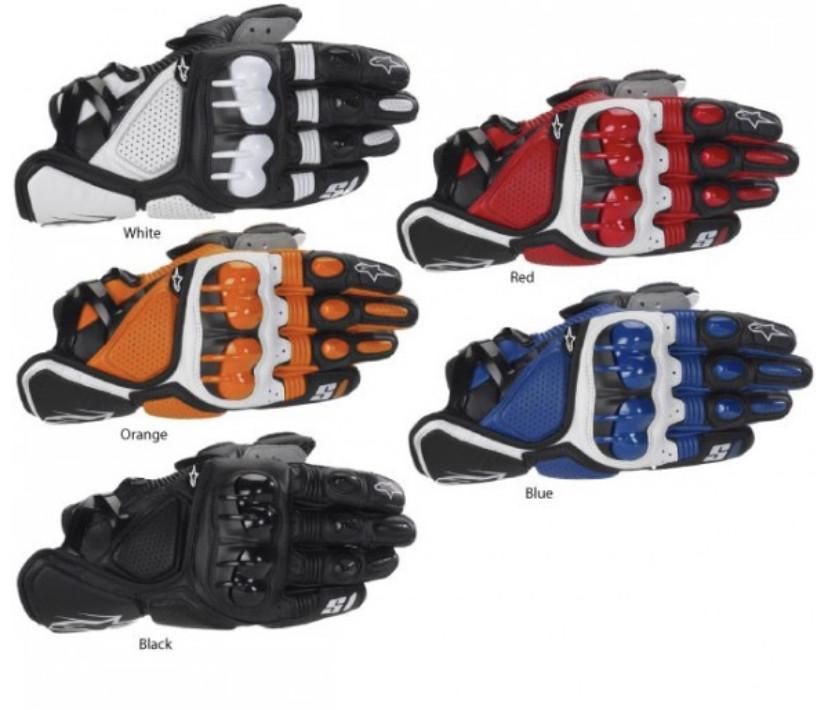 Мотоперчатки Альпиенстарс С1 разные цвета М-Хл