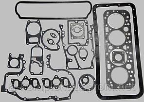 Набор прокладок двигателя (полный) д-65 из паронита (арт.1901п)