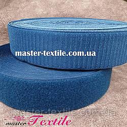 Липучка текстильная 50 мм, 25 метров (джинса)