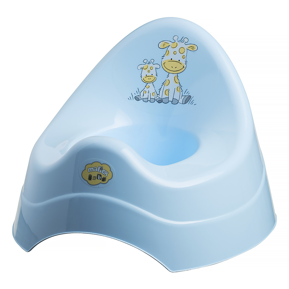 Горшок Maltex Giraffe 7552  blue