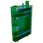 Дровяной котел длительного горения «САН» РТ-10 мощностью 10 кВт, фото 4