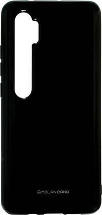 Силикон Xiaomi Mi Note10/CC9 Pro pearl black Silicone Case Molan, фото 2