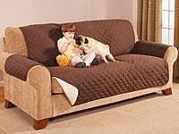 Покрывало-накидка на диван двустороннее Couch Coat (237см и 147 см).