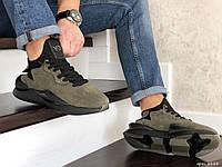 Мужские кроссовки Adidas Y-3 Kaiwa  хаки