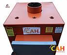 Твердотопливный котел с механической автоматикой САН Эко-У-М 17 (Усиленный сталь 4мм), фото 5