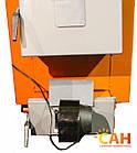 Котел под дрова и уголь с автоматикой САН Эко-У-Т 10 (Усиленный сталь 4мм), фото 4