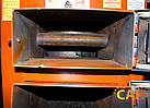 Котел дровяной с блоком управления и турбиной САН Эко-У-Т 25 Усиленный, фото 7