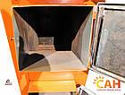 Котел дровяной с блоком управления и турбиной САН Эко-У-Т 25 Усиленный, фото 9