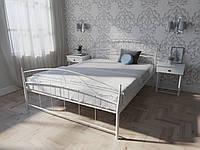 Двуспальная металлическая кровать Селена Melbi. Двоспальне металеве ліжко