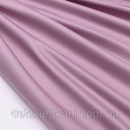 Сатин премиум, цвет пепельно-розовый, ширина 240 см (№2593)
