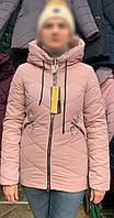 Куртка молодежная весенняя пудра