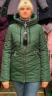 Куртка молодежная весенняя зелена