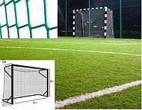 Сетка на ворота 3х2x1x1 м. - мини-футбол, гандбол, шнур полипропилен 3,5 мм. Green (Испания)