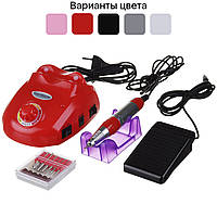 Фрезер для маникюра и педикюра Nail Master ZS-603 для ногтей (фрезер для манікюру і педикюру, нігтів) Красный, фото 1