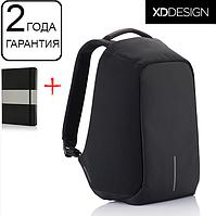 """Оригинал! Гарантия 2 года. Антивор рюкзак для ноутбука XD Design Bobby 15.6""""/Black (P705.541) черный"""