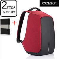 """Оригинал! Гарантия 2 года. Антивор рюкзак для ноутбука XD Design Bobby 15.6""""/Red (P705.544) красный"""