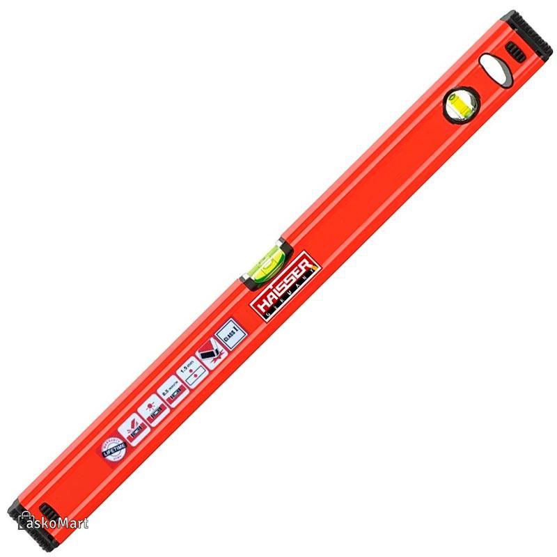 Уровень строительный 1500 мм, профиль 1.5 мм, HAISSER 26075 (88799)