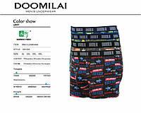 Трусы боксеры мужские Стрейч+Бамбук ТМ DOOMILAI Арт. D-01224, фото 1