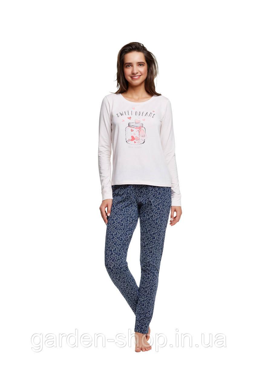 Піжама жіноча HENDERSON Ladies 37511-03 комплект кофта та штани, розмір L