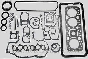К-т прокладок+РТИ двигателя Д-65 (ЮМЗ) из паронита