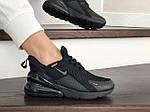 Женские кроссовки Nike Air Max 270 (черные) - Индонезия, фото 4