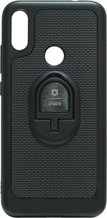 Силикон Xiaomi Redmi Note7 black Magnet Ring iFace, фото 2