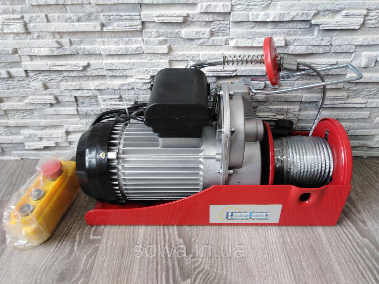 ✔️ Тельфер Euro Craft HJ208 . 500/1000kg