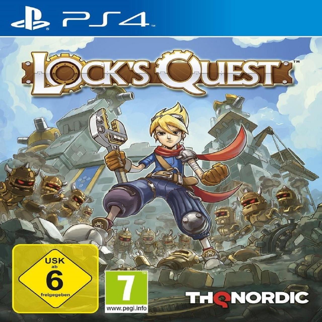 Lock's Quest (английская версия) PS4