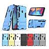 PC + TPU чехол Metal Armor для Samsung Galaxy A20s (7 цветов)