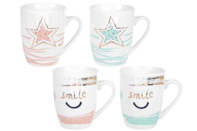 """Чашка 320мл """"Звездная улыбка"""" BONADI 920-105, фото 2"""