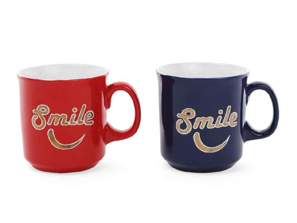 """Чашка 475 мл """"Smile"""" в коробці BONADI 593-271"""