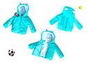 Детская демисезонная куртка для девочки Ушки на рост 80-98 см, фото 4
