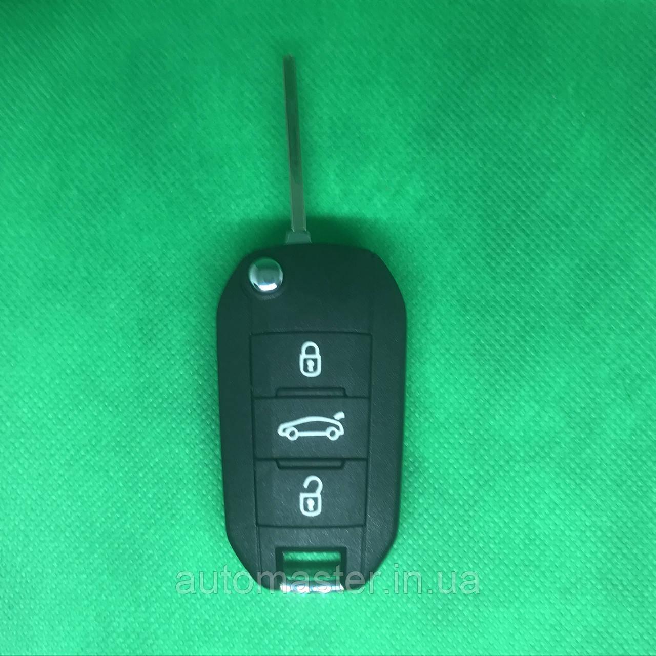 Ключ для PEUGEOT (Пежо) 508 3 - кнопки с чипом ID46/433MHZ