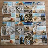 Пластиковая Декоративная Панель ПВХ Морской берег 956*480мм