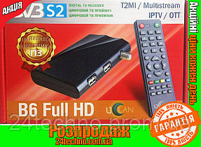 Спутниковый ресивер Uclan B6 Full HD Mpeg4 ГАРАНТИЯ DVB-S ПРОШИТ