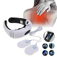 Электростимулятор массажер для шеи Cervical vertebraNeck Massager KL-5830