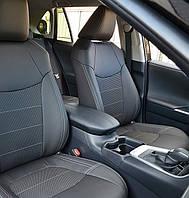 Автомобильные чехлы на сидения автомобиля Toyota RAV4 4 поколение (2019- по сегодня)