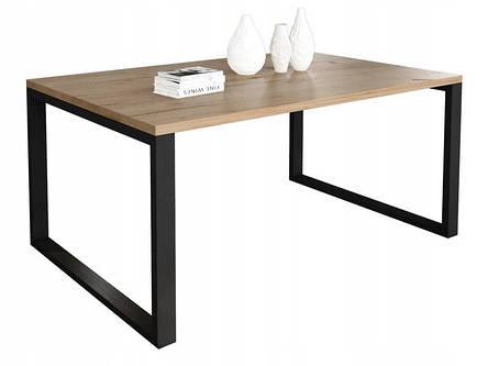 Журнальный стол в стиле лофт Ergo, Golden oak, фото 2