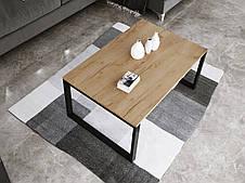 Журнальный стол в стиле лофт Ergo, Golden oak, фото 3