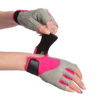 Жіночі рукавички для фітнесу MARATON 16-1728, фото 2
