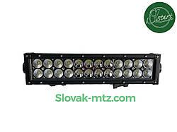 Светодиодная LED Балка (30см) 72Вт,  луч Combo (светодиоды 3w x24шт)