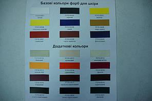 "Краска для уреза кожи 1л.""Dr.Leather"" Touch Up Pigment Охра красный, фото 3"