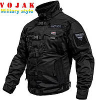 """Куртка тактическая """"SHTORM"""" BLACK"""