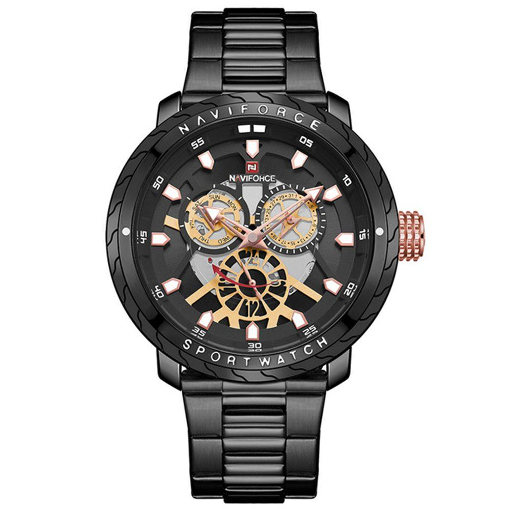 Часы Naviforce 9158BK Black