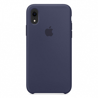 """Apple silicon case iPhone XR  """" Midnight blue """""""