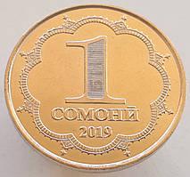 Таджикистан 1 сомони 2019