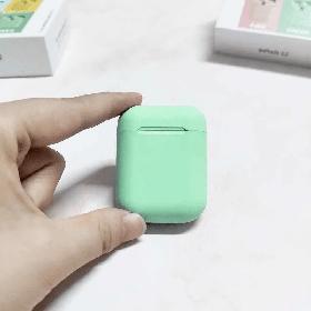 Наушники Bluetooth TWS 12 + Touch + Pop Up Зеленый