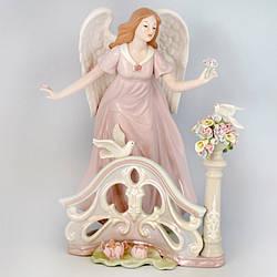 Фигурка «Ангел в саду», h-29,8 см (350-3081)