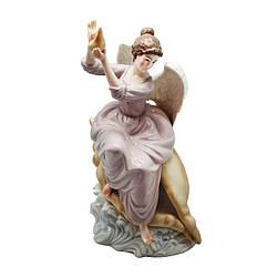 Фигурка фарфоровая «Ангел с ракушкой», 31х18х13 см (350-3089)