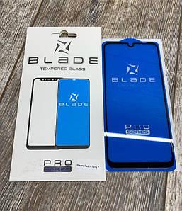 Защитное цветное стекло (2.5D) BLADE PRO Series Full Glue для Xiaomi Redmi Note 7 Черный